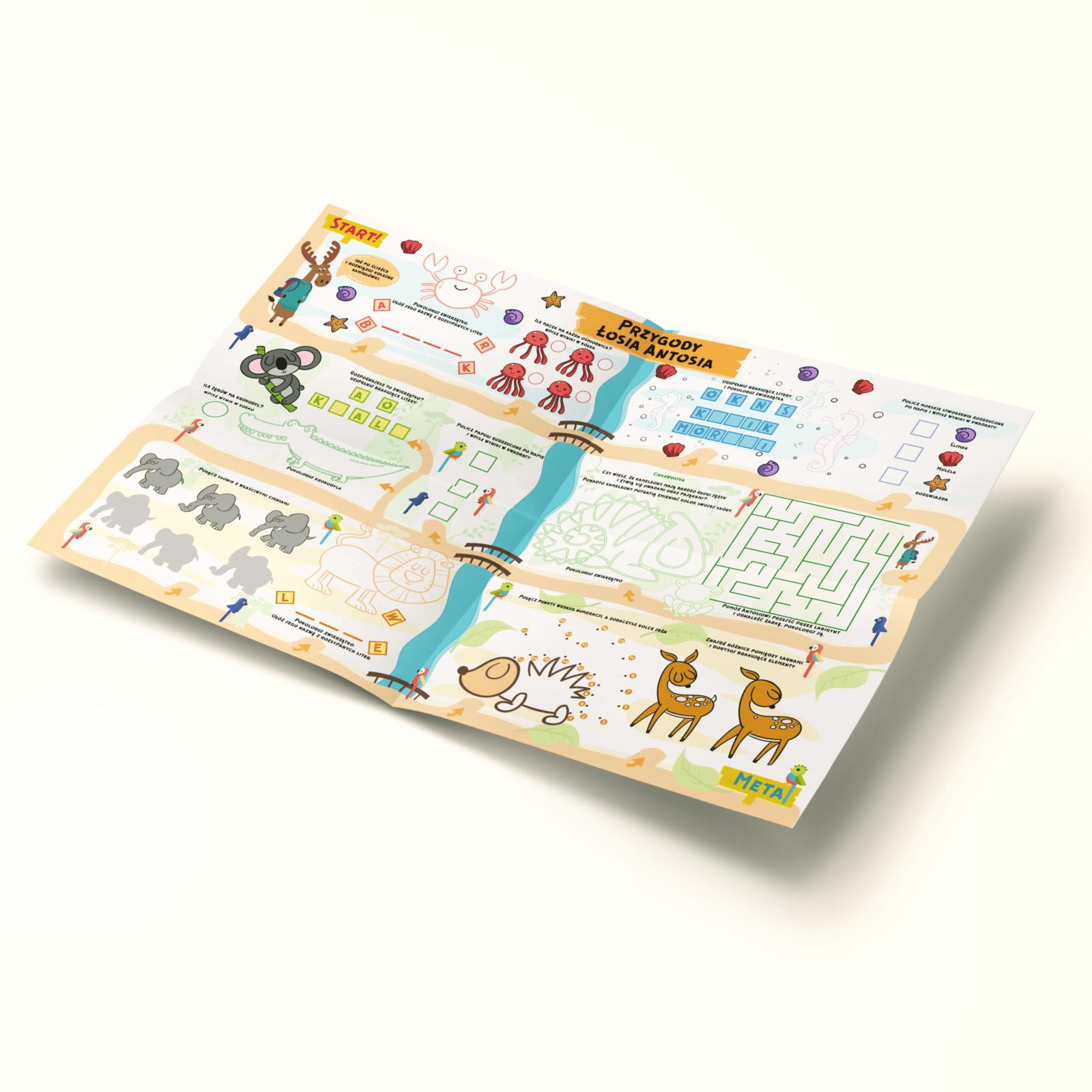 Mapa Zwierzątka - cała mapa (A2)